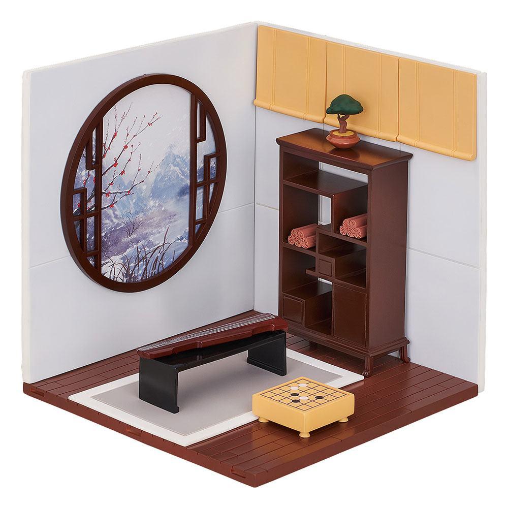 Nendoroid More Decorative Parts for Nendoroid Figures Playset 10 Chinese Study B Set 16 cm