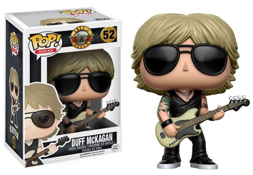 Guns N´ Roses POP! Rocks Vinyl Figure Duff McKagan 9 cm