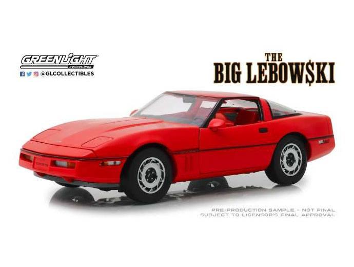 The Big Lebowski Diecast Model 1/18 1985 Chevrolet Corvette C4