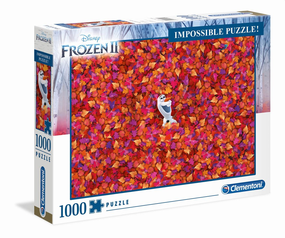 Clementoni legpuzzel Disney Frozen 2 Impossible 1000 stukjes