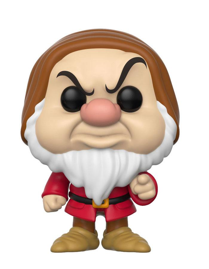 Snow White and the Seven Dwarfs POP! Disney Vinyl Figure Grumpy 9 cm