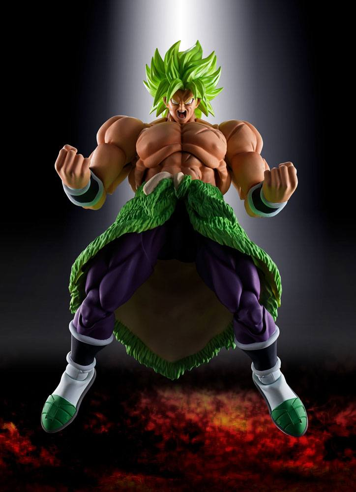 Dragonball Super Broly S.H. Figuarts Action Figure Super Saiyan Broly Fullpower 22 cm
