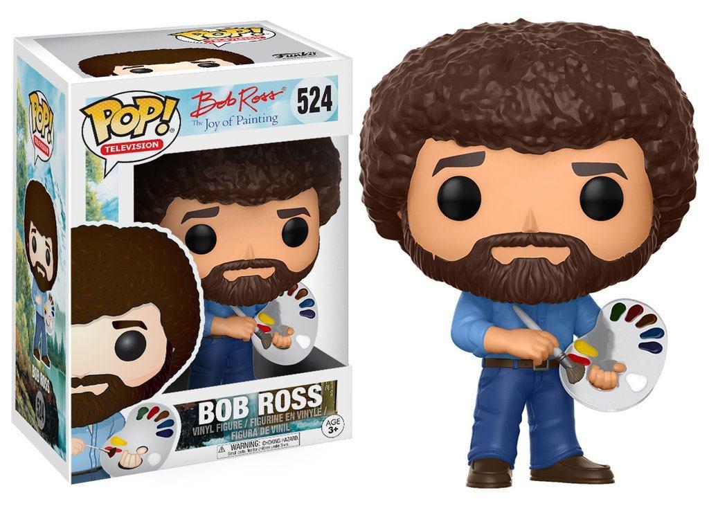 The Joy of Painting POP! Television Vinyl Figure Bob Ross 9 cm