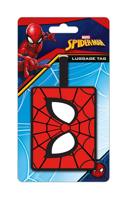 Spider-Man Rubber Luggage Tag Eyes
