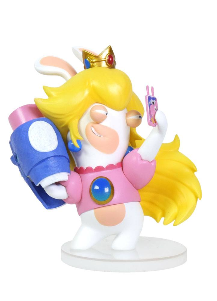 Mario + Rabbids Kingdom Battle PVC Figure Rabbid-Peach 8 cm