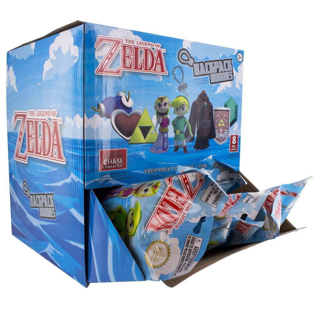 The Legend of Zelda Backpack Buddies Mystery Bags Display (24)