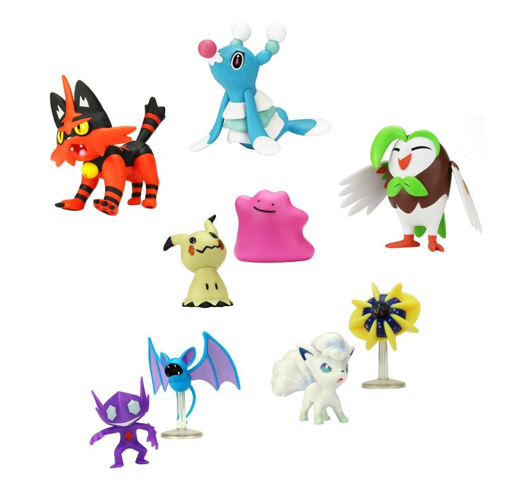 Pokémon Battle Mini Figures Packs 5-7 cm Wave 2 Assortment (6)