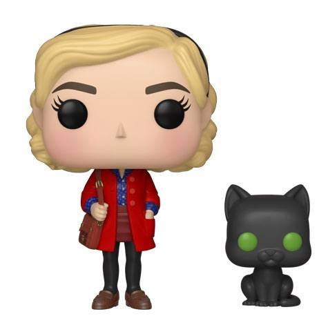Chilling Adventures of Sabrina POP! Movies Vinyl Figure Sabrina & Salem 9 cm