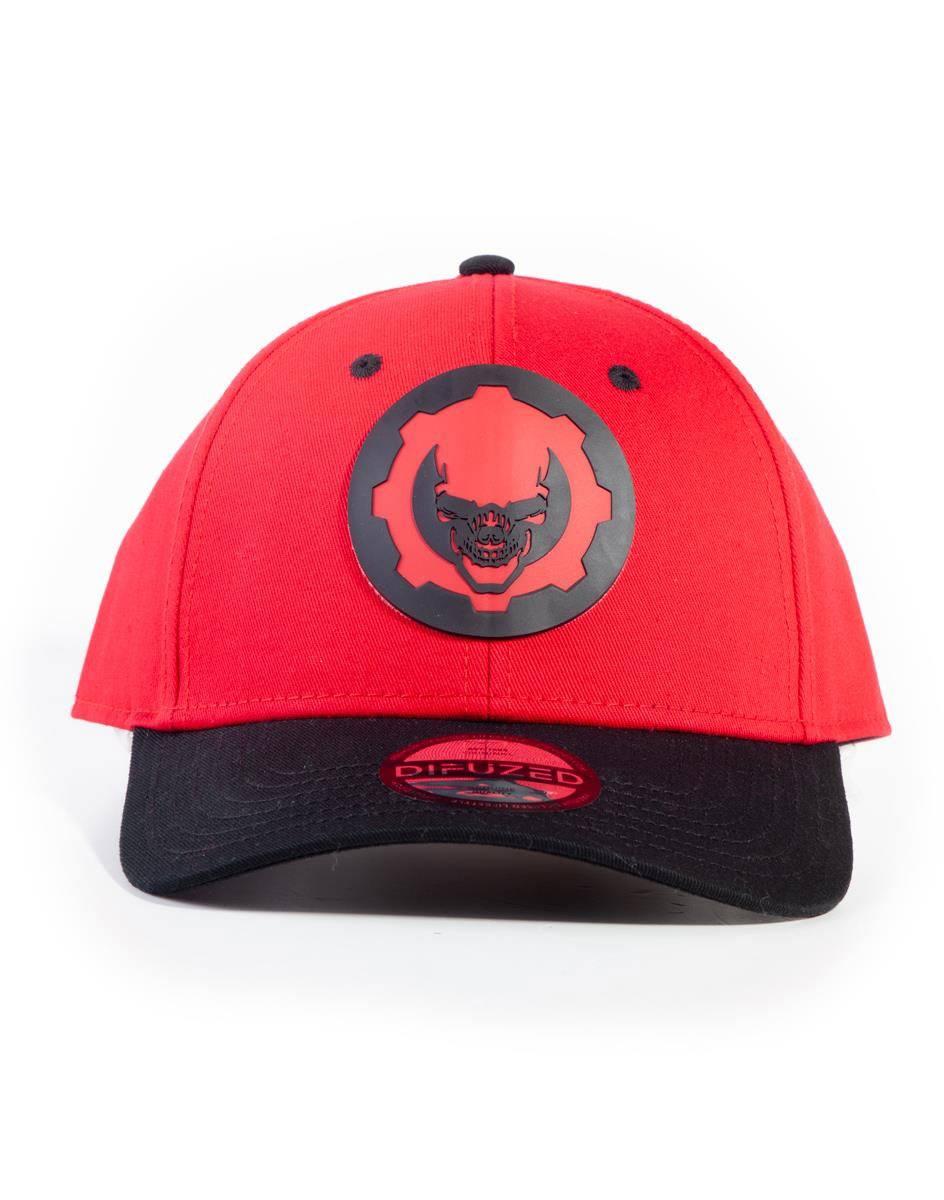 Gears Of War Baseball Cap Hydro Red Omen