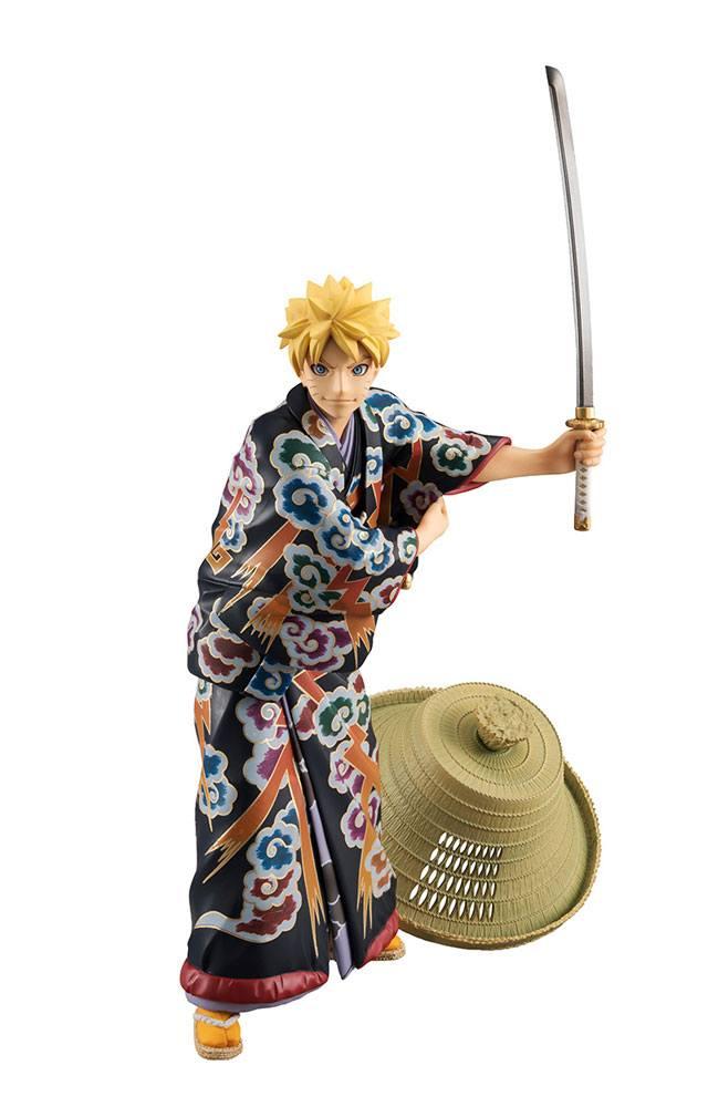 Naruto G.E.M. PVC Statue Naruto Uzumaki Kabuki Ver. 23 cm