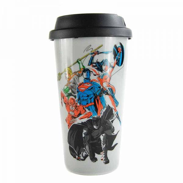 Justice League Travel Mug Team