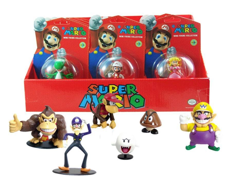 Super Mario Bros. Mini Figures 5 cm Series 3 Display (12)