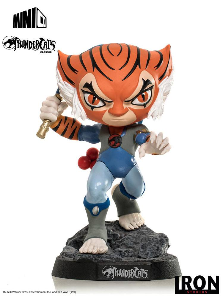 Thundercats Mini Co. PVC Figure Tygra 14 cm