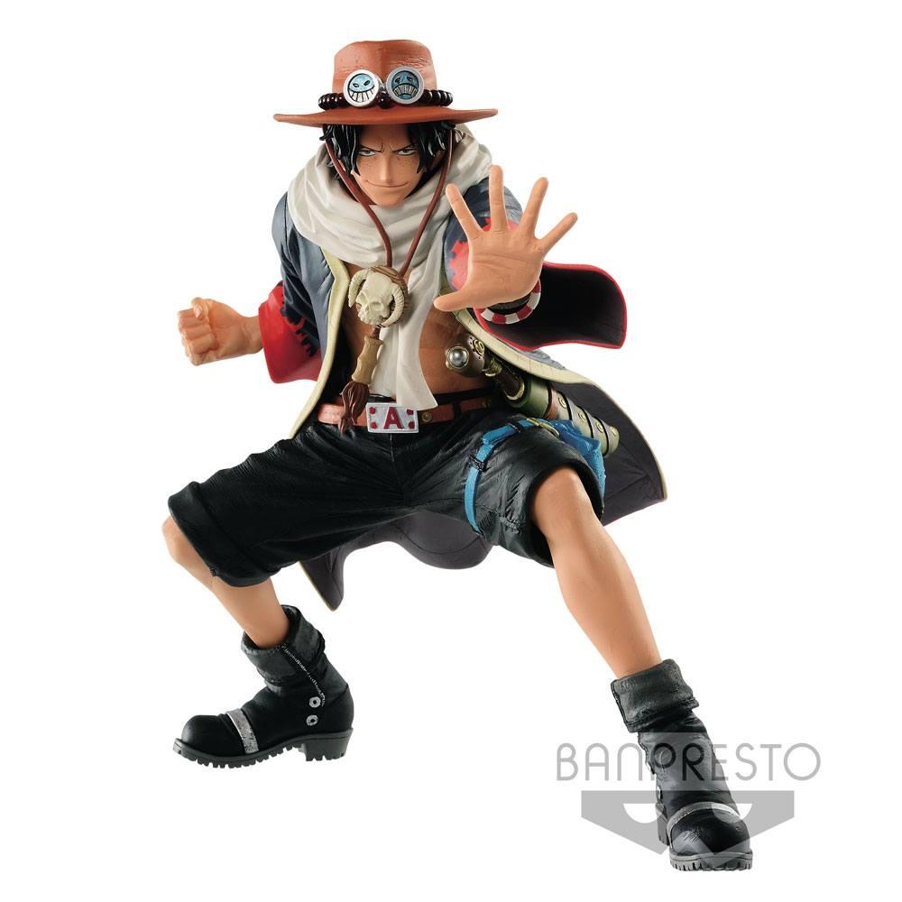 One Piece Figure King Of Artist Portgas D. Ace 20 cm