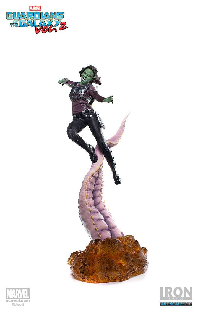 Guardians of the Galaxy Vol. 2 Battle Diorama Series Statue 1/10 Gamora 30 cm