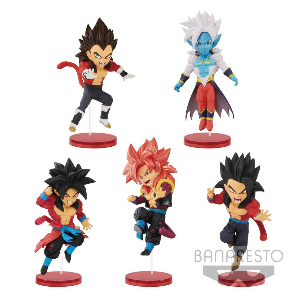 Super Dragonball Heroes WCF ChiBi Figures 7 cm Assortment Vol. 3 (28) --- DAMAGED PACKAGING