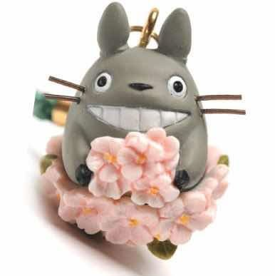 My Neighbor Totoro Strap Spring Cherry 11 cm