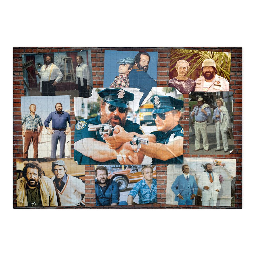 Bud Spencer & Terence Hill Jigsaw Puzzle Poster Wall #002 (1000 pieces)
