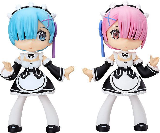 Re: Zero -Starting Life in Another World- Soft Vinyl Figures Yurumari Rem & Ram 14 cm