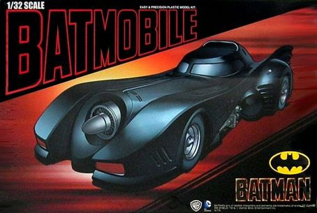 Batman Plastic Modelkit 1/32 Batmobile
