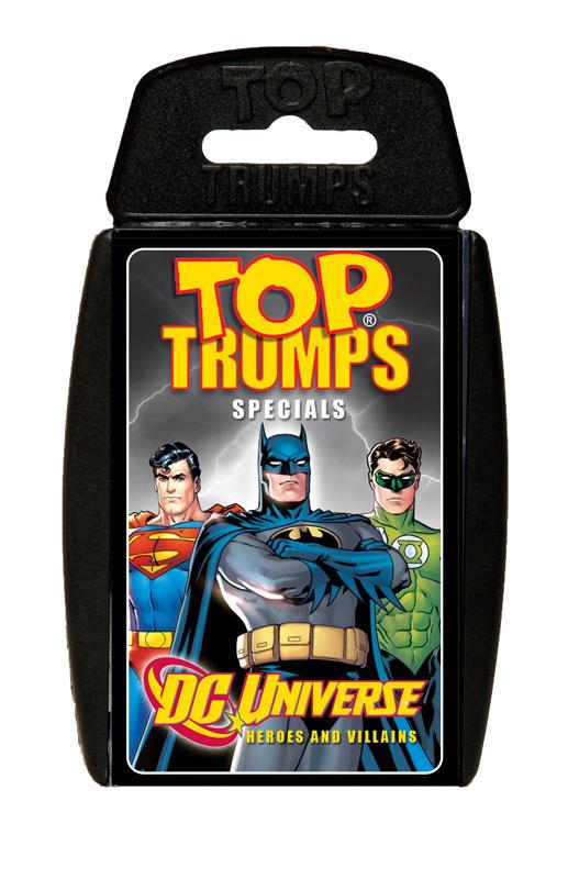 DC Superheroes Top Trumps *English Version*