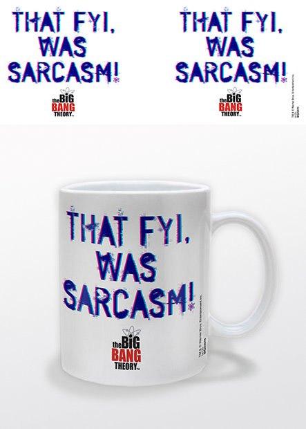 The Big Bang Theory Mug That Fyi, Was Sarcasm