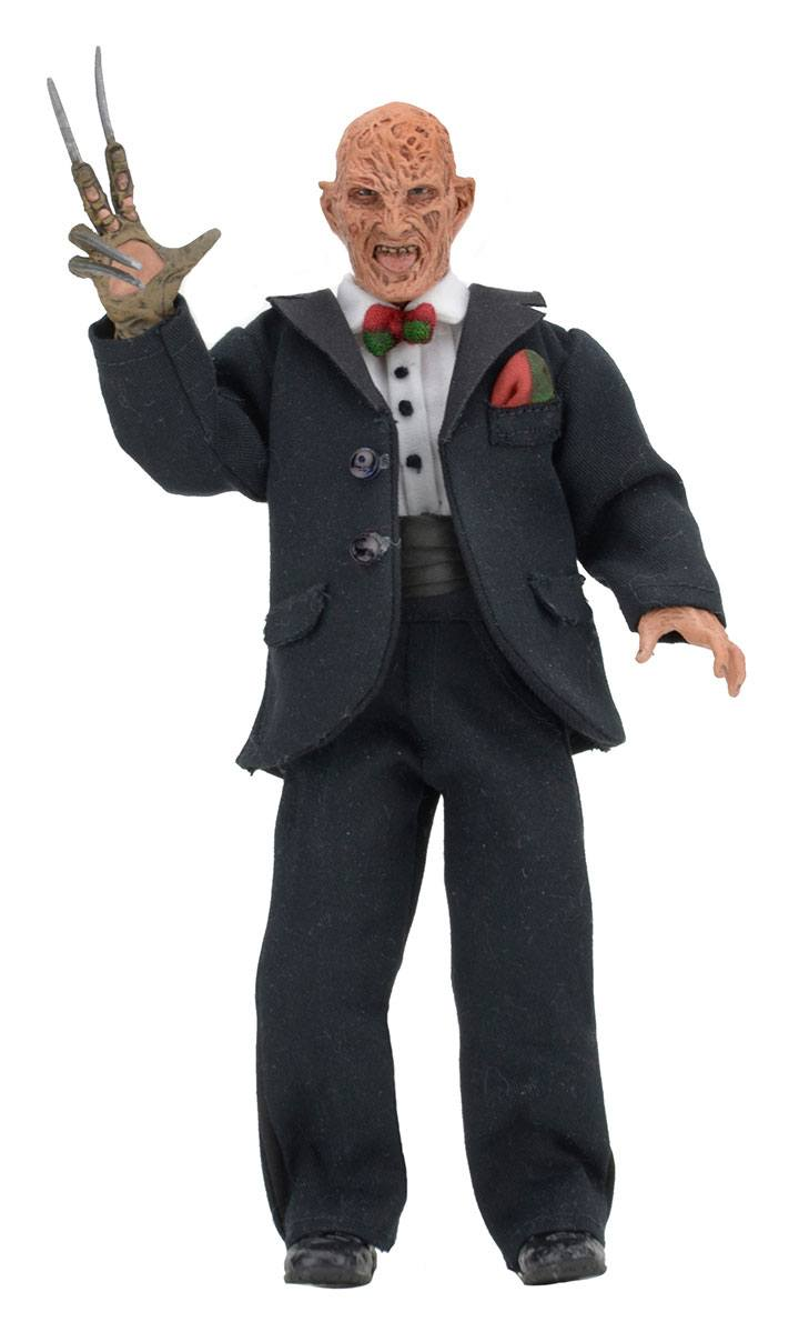 A Nightmare on Elm Street 3 Retro Action Figure Tuxedo Freddy 20 cm