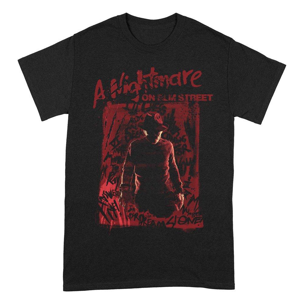 Nightmare on Elm Street T-Shirt Freddy Silhouette Size L