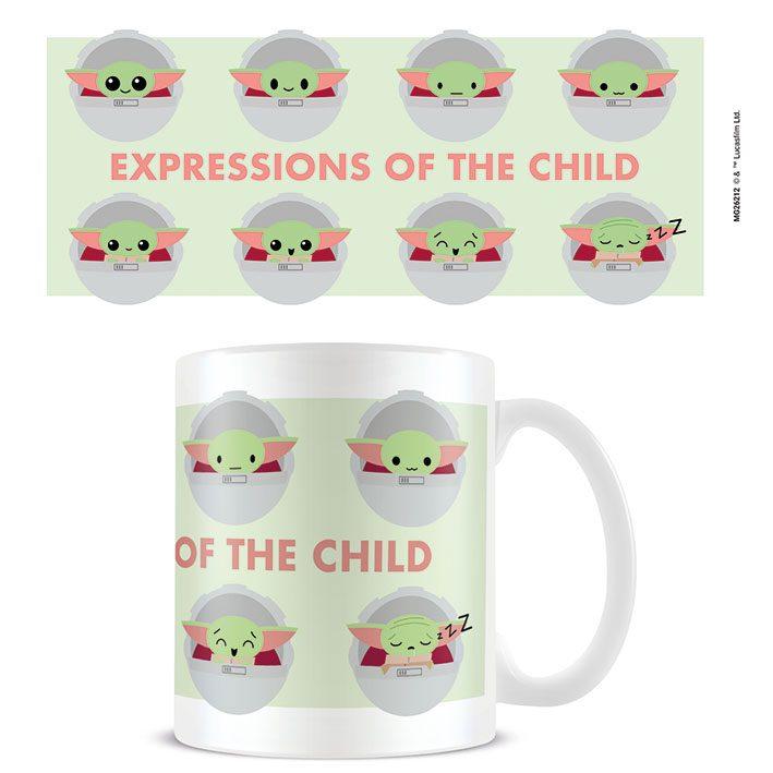 Star Wars The Mandalorian Mug Expressions Of The Child