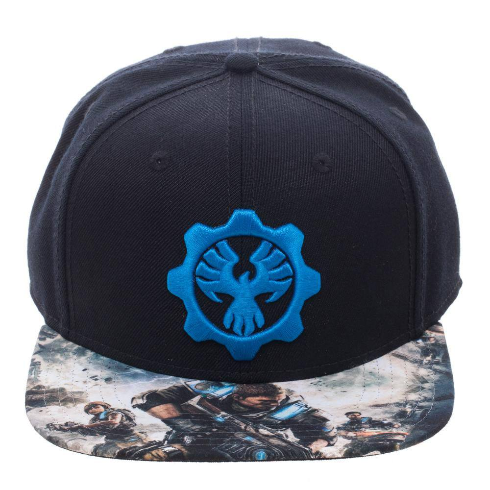 Gears of War 4 Snap Back Cap Logo
