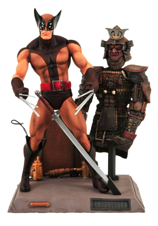 Marvel Select Action Figure Brown Wolverine 18 cm