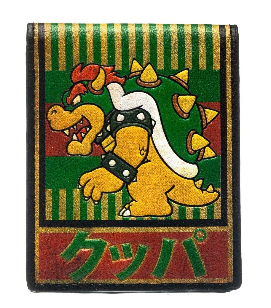 Nintendo Bowser Kanji Bifold Wallet