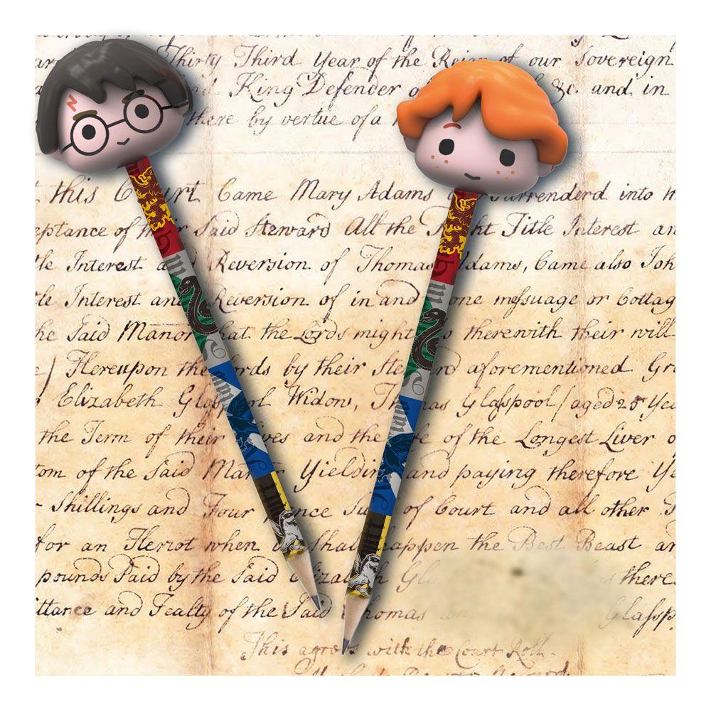 Harry Potter Pencils with Eraser Topper 2-Packs Case (6)