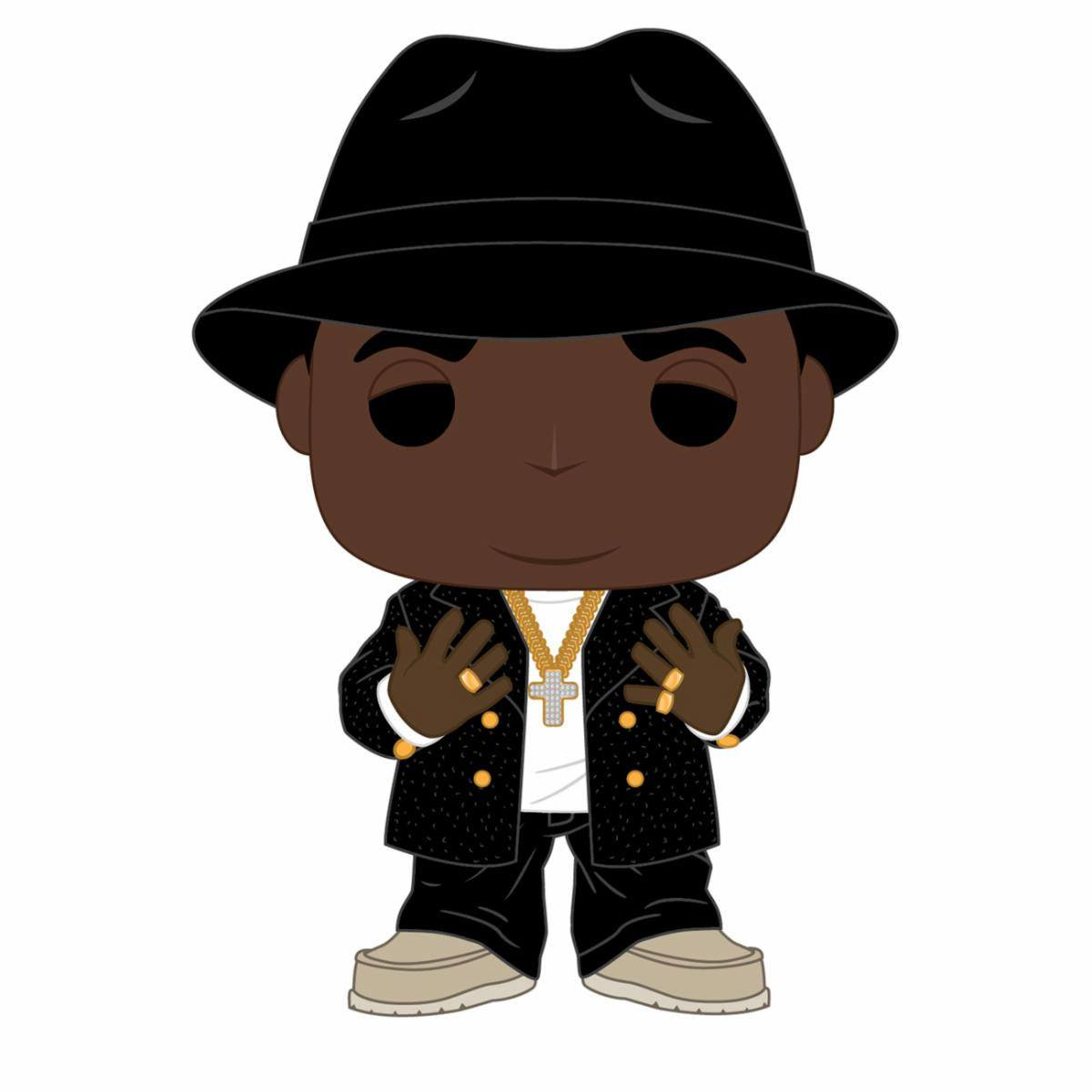 Notorious B.I.G. POP! Rocks Vinyl Figure Notorious B.I.G. 9 cm