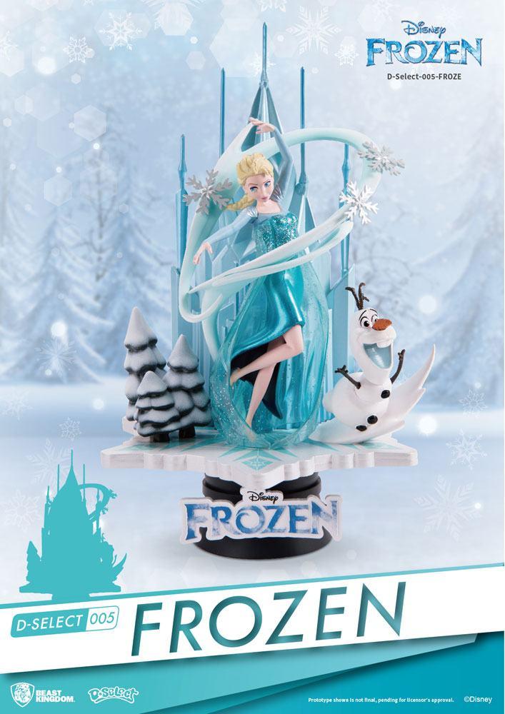 Frozen D-Select PVC Diorama 18 cm