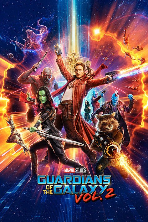 Guardians of the Galaxy Vol. 2 Poster Pack One Sheet 61 x 91 cm (5)