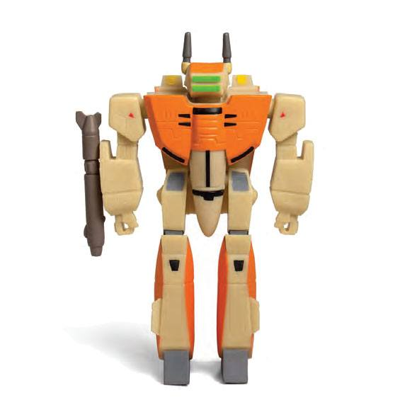 Robotech ReAction Action Figure VF-1D 10 cm