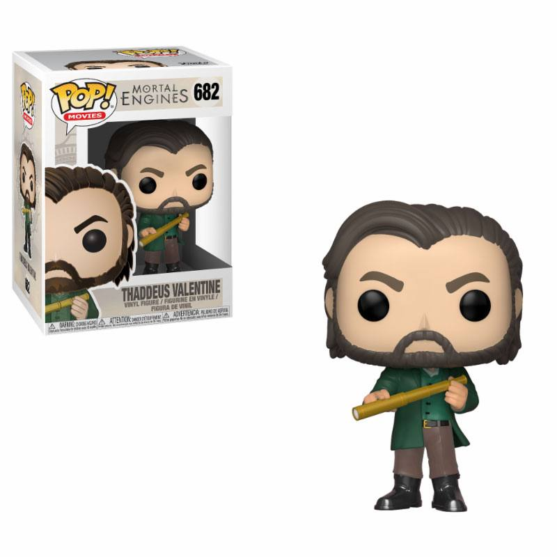 Mortal Engines POP! Movies Vinyl Figure Thaddeus Valentine 9 cm