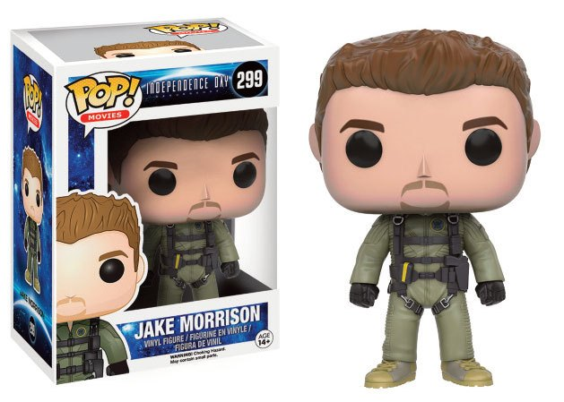 Independence Day 2 POP! Movies Vinyl Figure Jake Morrison 9 cm
