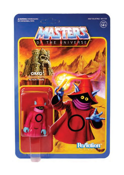 Masters of the Universe ReAction Action Figure Wave 4 Orko 6 cm
