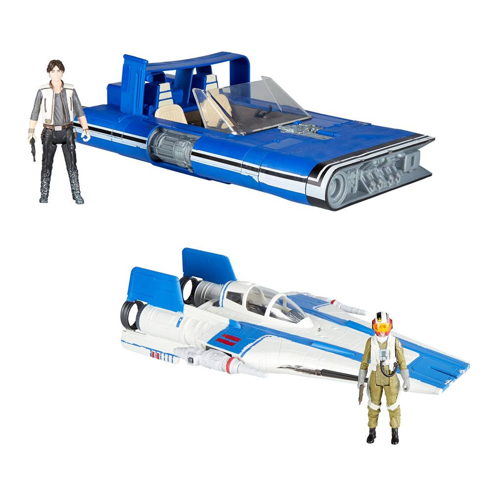Star Wars Force Link 2.0 Class B Vehicles with Figures 2018 Wave 1 Assortment (3)