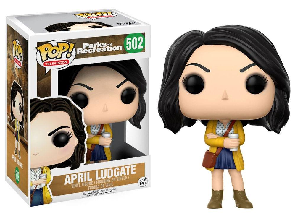 Parks and Recreation POP! TV Vinyl Figur April Ludgate 9 cm