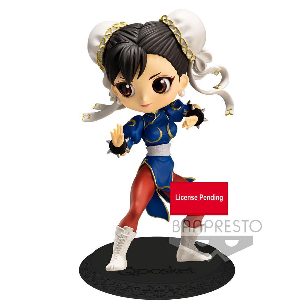 Street Fighter Q Posket Mini Figure Chun-Li Ver. B 14 cm