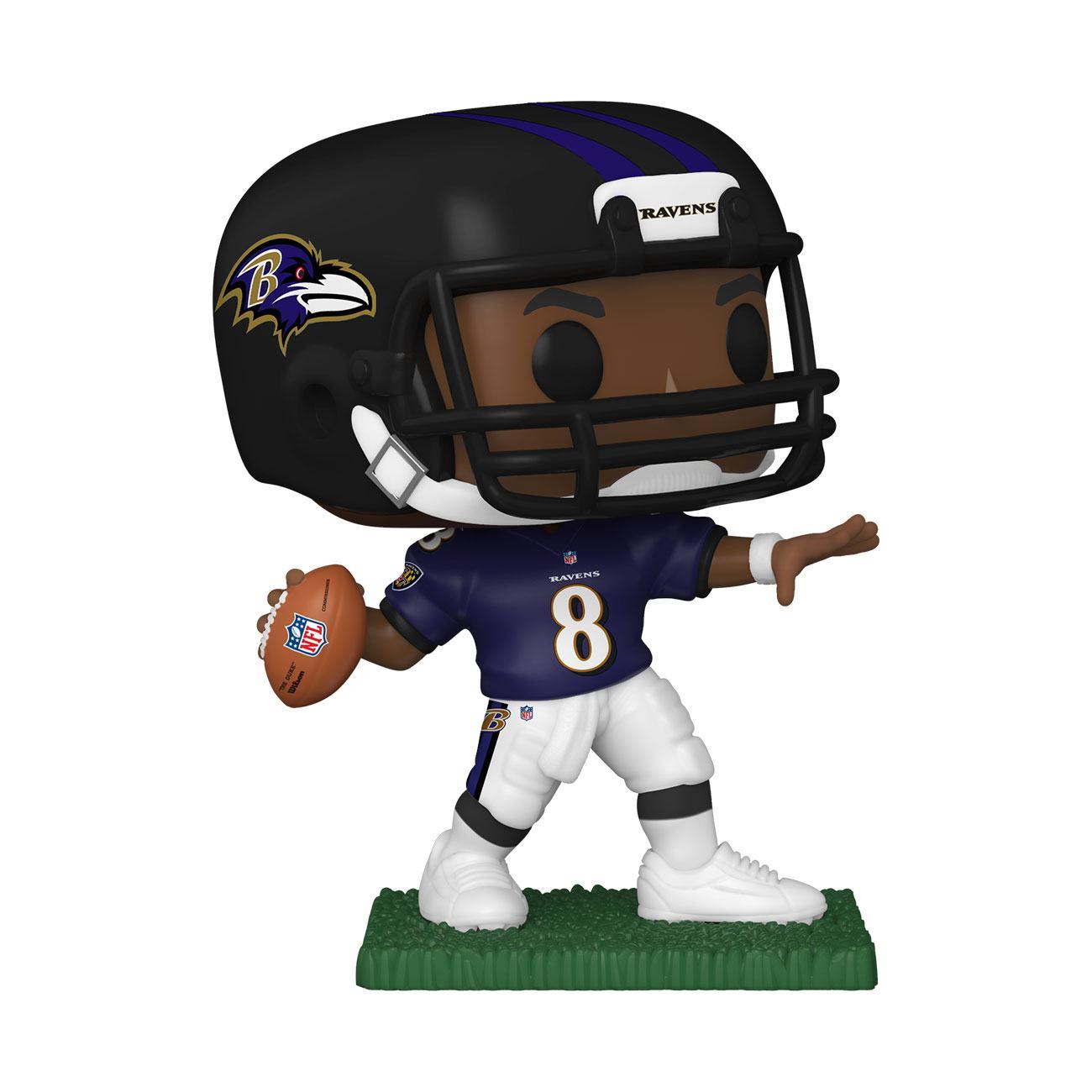 NFL POP! Sports Vinyl Figure Lamar Jackson (Baltimore Ravens) 9 cm