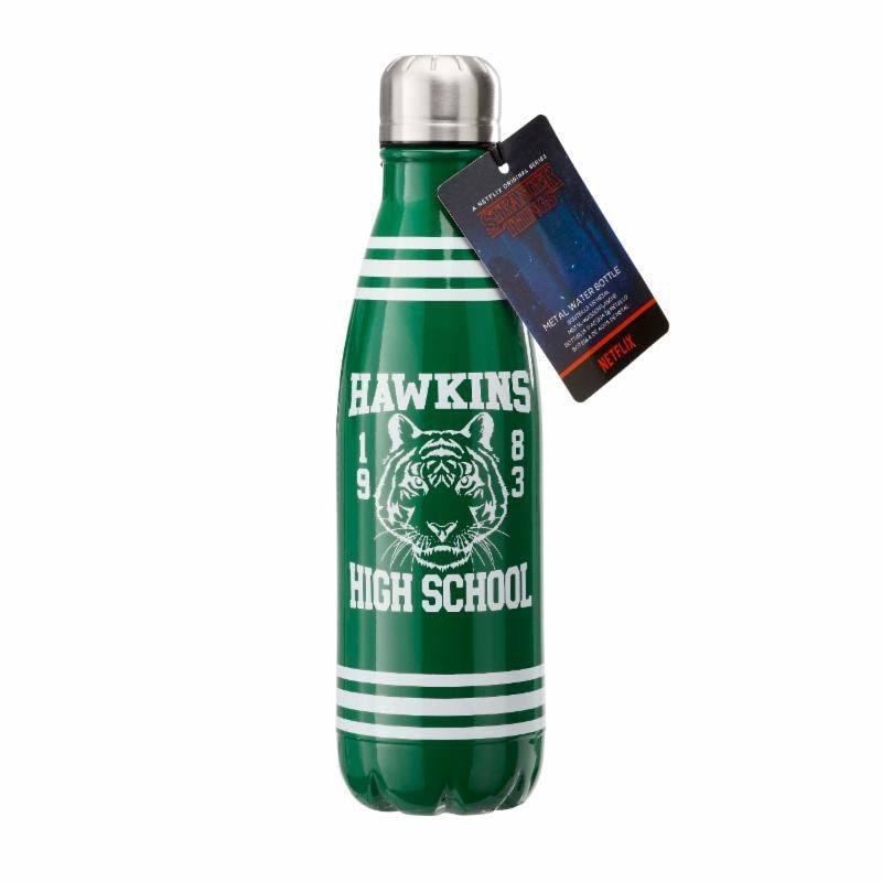 Stranger Things Water Bottle Hawkins High School