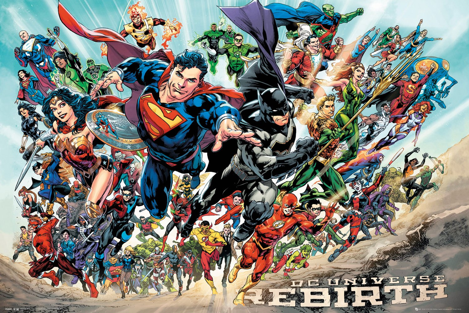 DC Universe Poster Pack Rebirth 61 x 91 cm (5)