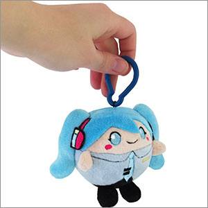 Hatsune Miku Squishable Micro Clip-On Plush Figure Miku 8 cm