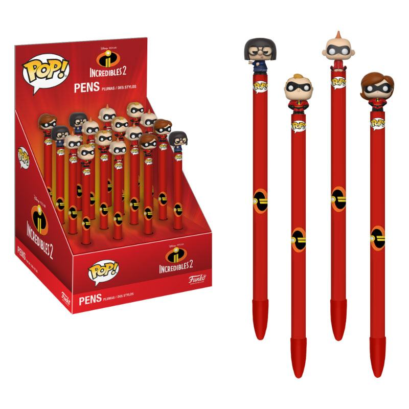 Incredibles 2 POP! Pens with Toppers Display (16)