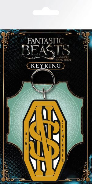 Fantastic Beasts Rubber Keychain Newt Scamander 7 cm