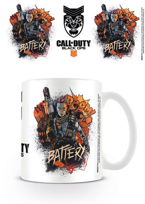 Call of Duty Black Ops 4 Mug Battery
